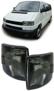 SCHWARZE BLINKER - PAAR - NEU für VW T4 Bus + Transporter