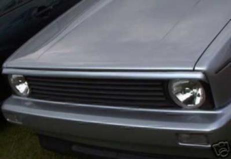 GRILLSPOILER SCHEINWERFERLEISTE für VW Golf 1 Caddy Cabrio