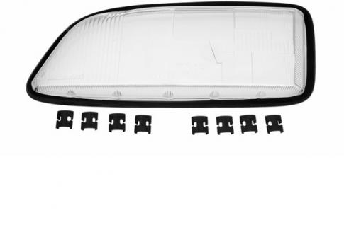 VOLVO C70 I Coupe Cabrio 97-05 SCHEINWERFERGLAS STREUSCHEIBE LINKS TYC