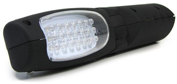 led arbeits hand lampe mit 2 leuchten aufladbar magnet. Black Bedroom Furniture Sets. Home Design Ideas