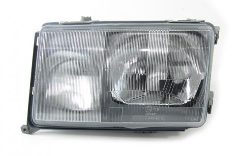 Mercedes W124 85-89 SCHEINWERFER H4 H3 LINKS