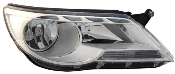 H7 / H7 SCHEINWERFER RECHTS TYC für VW Tiguan 5N 07-11