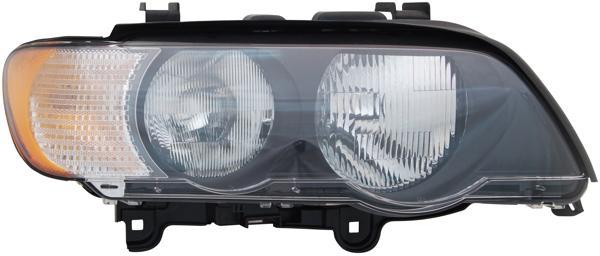 BMW X5 E53 00-03 H7 / HB3 SCHEINWERFER WEISS LINKS TYC