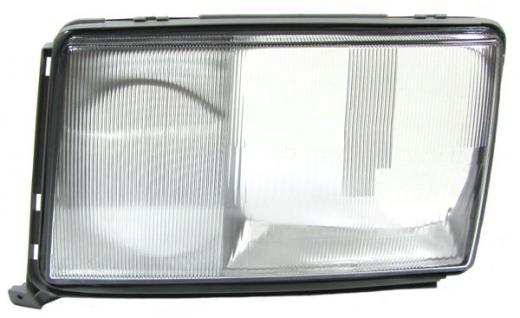 Mercedes W124 89-93 SCHEINWERFERGLAS STREUSCHEIBE LINKS