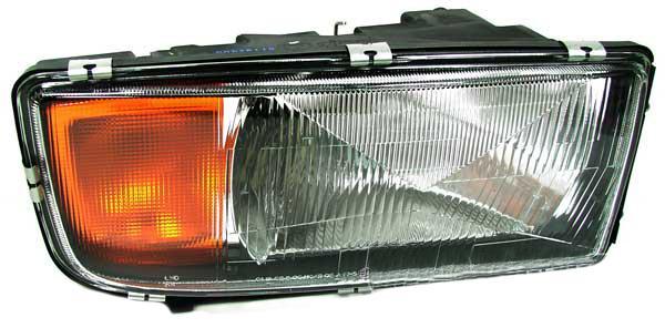 Mercedes Actros MP1 96-02 H4 SCHEINWERFER MIT LWR RECHTS