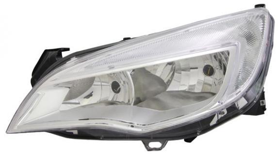 H7 H7 SCHEINWERFER MIT LWR MOTOR LINKS FÜR Opel Astra J 09-12