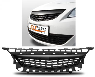 Opel Astra J 09-12 KÜHLERGRILL SPORT GRILL OHNE EMBLEM SCHWARZ