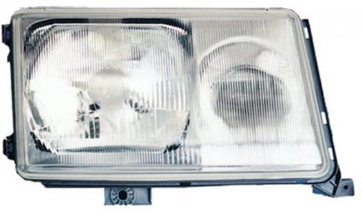 MERCEDES E Klasse W124 89-93 H3 / H4 SCHEINWERFER RECHTS TYC