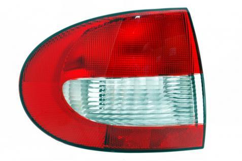 RENAULT Megane I Limousine 99-03 RÜCKLEUCHTE / HECKLEUCHTE LINKS TYC