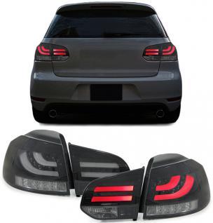 LED CELIS RÜCKLEUCHTEN MIT LED BLINKER SCHWARZ SMOKE für VW Golf 6 VI 5K1