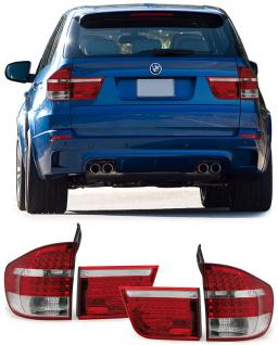 BMW X5 E70 07-12 LED RÜCKLEUCHTEN ROT KLAR