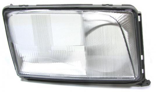 SCHEINWERFERGLAS STREUSCHEIBE RECHTS FÜR Mercedes W124 ab 93