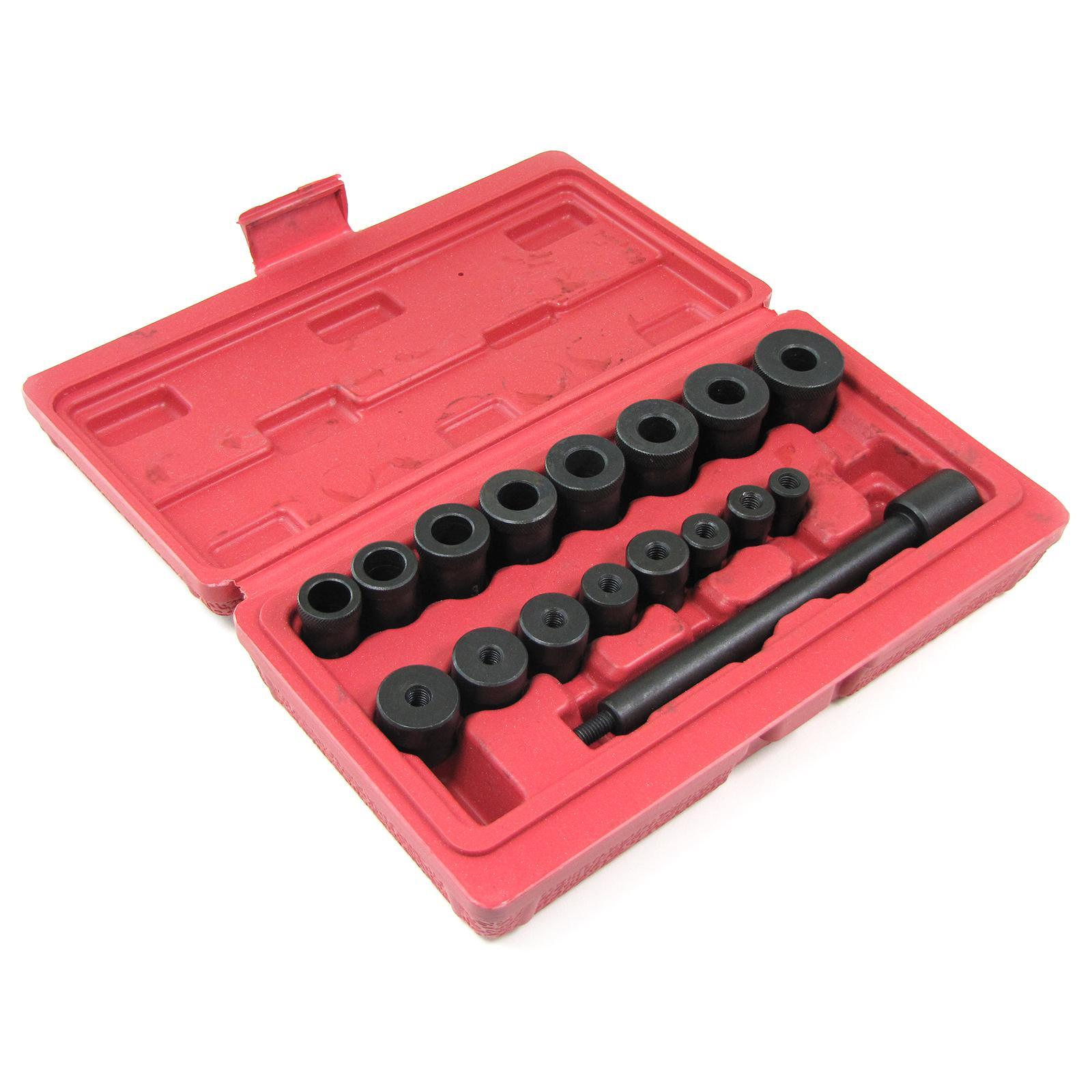 kupplung und kurbelwellen zentrier werkzeug set mit hartschalenkoffer 18 teilig kaufen bei. Black Bedroom Furniture Sets. Home Design Ideas