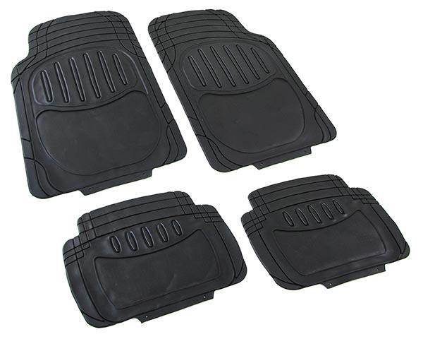 universal auto gummi fussmatten set nbr ii 4teilig zuschneidbar schwarz kaufen bei carparts. Black Bedroom Furniture Sets. Home Design Ideas