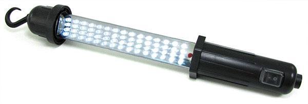 LED WERKSTATT AKKU HANDLAMPE STABLEUCHTE ARBEITSLAMPE 12V + 220V