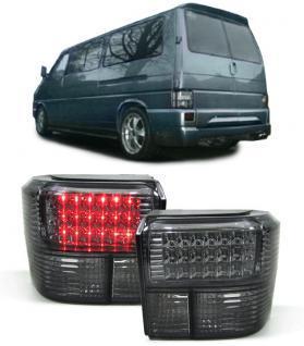 VW Bus Transporter T4 90-03 LED RÜCKLEUCHTEN SMOKE SCHWARZ