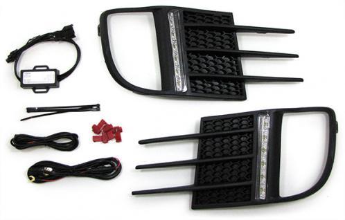 LED TAGFAHRLEUCHTEN DRL TAGFAHRLICHT für VW Golf 6 GTI 09-12