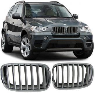 BMW X5 E70 07-13 SPORT NIEREN GRILL CHROM