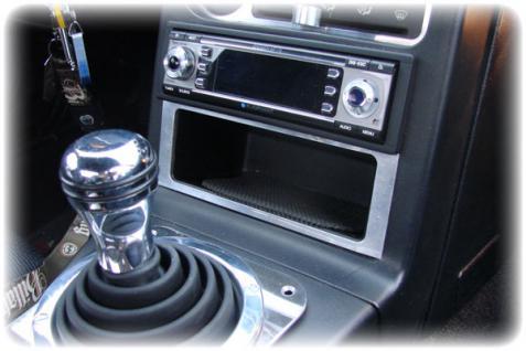 Mazda MX 5 Mx5 NA - Blende für Ablagefach - EDELSTAHL