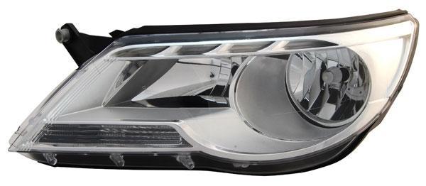 H7 H7 SCHEINWERFER LINKS für VW Tiguan ab 07