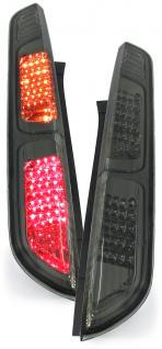 LED KLARGLAS RÜCKLEUCHTEN LED BLINKER SCHWARZ SMOKE FÜR Ford Focus 04-07