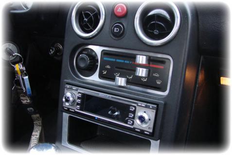 Mazda MX 5 Mx5 NA - Heizungsregler Blende - EDELSTAHL