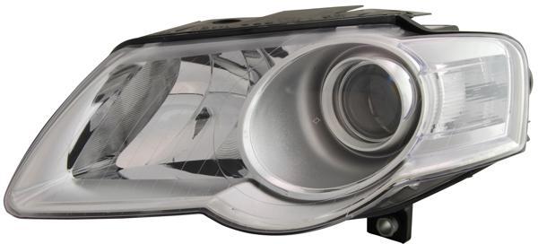 H7 / H7 SCHEINWERFER LINKS TYC FÜR VW Passat 3C 05-