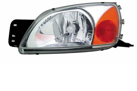 FORD Fiesta IV 99-02 H4 SCHEINWERFER LINKS TYC