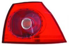 RÜCKLEUCHTE / HECKLEUCHTE AUSSEN LINKS TYC für VW Golf V 03-09