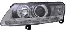 D3S / H7 / LED BI XENON SCHEINWERFER LINKS TYC für AUDI A6 4F 08-11