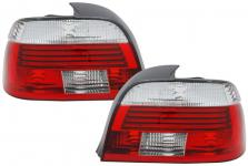 FACELIFT RÜCKLEUCHTEN ROT KLAR FÜR BMW 5ER E39 Limousine ab 2000
