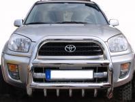Toyota RAV4 00-06 FRONTSCHUTZBÜGEL RAMMSCHUTZ MIT UNTERFAHRSCHUTZ EDELSTAHL