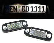 LED KENNZEICHENBELEUCHTUNG WEISS 6000K FÜR Volvo C30 V70 S40 V50 S60 XC60 XC90