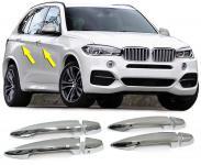 TÜRGRIFF BLENDE COVER ABDECKUNG CHROM FÜR BMW X5 F15 ab 14