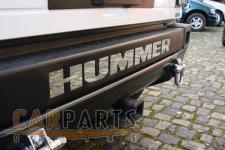 Hummer H2 EDELSTAHL SCHRIFTZUG HUMMER STOßSTANGE