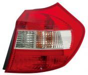 1er BMW E81 E87 04-07 RÜCKLEUCHTE ROT KLAR - RECHTS