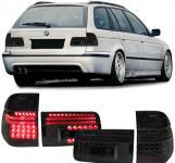 Kombi Touring LED RÜCKLEUCHTEN SCHWARZ FÜR BMW 5ER E39 97-04