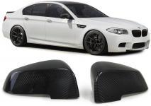 BMW 5ER GT F07 5ER F10 F11 F18 7ER F01 F02 AUSSENSPIEGEL KAPPEN COVER CARBON