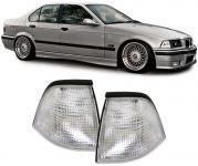 BMW 3ER E36 Limousine Touring Compact 90-99 BLINKER WEISS KLAR PAAR