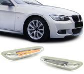 LED SEITENBLINKER WEISS KLAR FÜR BMW E81 E82 E87 E88 E90 E91 E92 E93 X1 E84