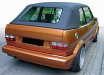 ROT WEISSE RÜCKLEUCHTEN KRISTALL für VW Golf 1 + Cabrio