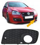 STOßSTANGENGITTER NEBELSCHEINWERFER BLENDE GTI LINKS für VW Golf 5 04-09