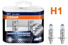 NIGHT BREAKER UNLIMITED H1 55W 12V Halogenleuchtmittel