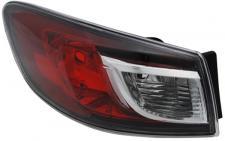 MAZDA 3 Limousine BL 09- RÜCKLEUCHTE / HECKLEUCHTE AUSSEN LINKS TYC
