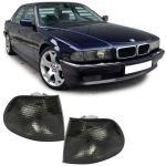 SCHWARZE BLINKER FÜR BMW 7ER E38 94-98