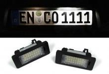 LED KENNZEICHENBELEUCHTUNG WEISS 6000K FÜR Seat Alhambra II & Ibiza Typ 6J/6P