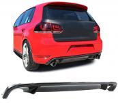 CARBON HECK DIFFUSOR EINSATZ FÜR GTI STOßSTANGE f. VW Golf 6 5K1 Limousine 08-12