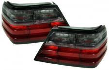 Mercedes W124 ROT SCHWARZE RÜCKLEUCHTEN - PAAR