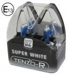 H7 XENON BLUE SUPER WHITE HID BIRNEN LAMPEN 55W 12V MIT E-ZEICHEN TENZO-R