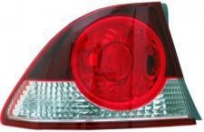 RÜCKLEUCHTE AUSSEN ROT KLAR LINKS TYC FÜR HONDA Civic VIII Limousine FD 05-08